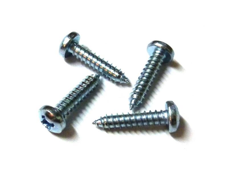 2,9 x 9,5 mm 100 St/ück Blechschrauben Schlitz DIN 7971
