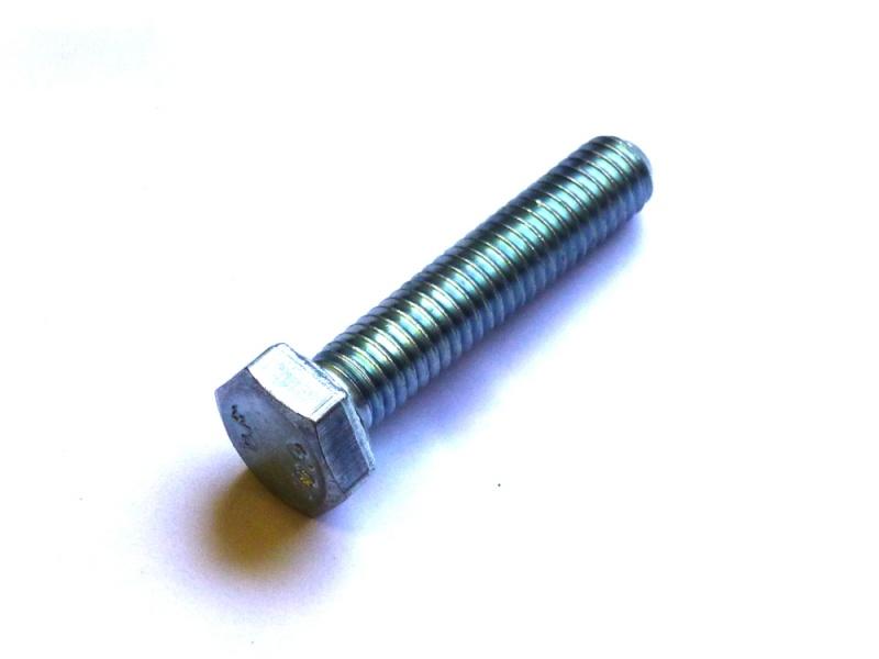 5x DIN 933 Sechskantschraube mit Gewinde bis Kopf M 18 x 40 A2 blank