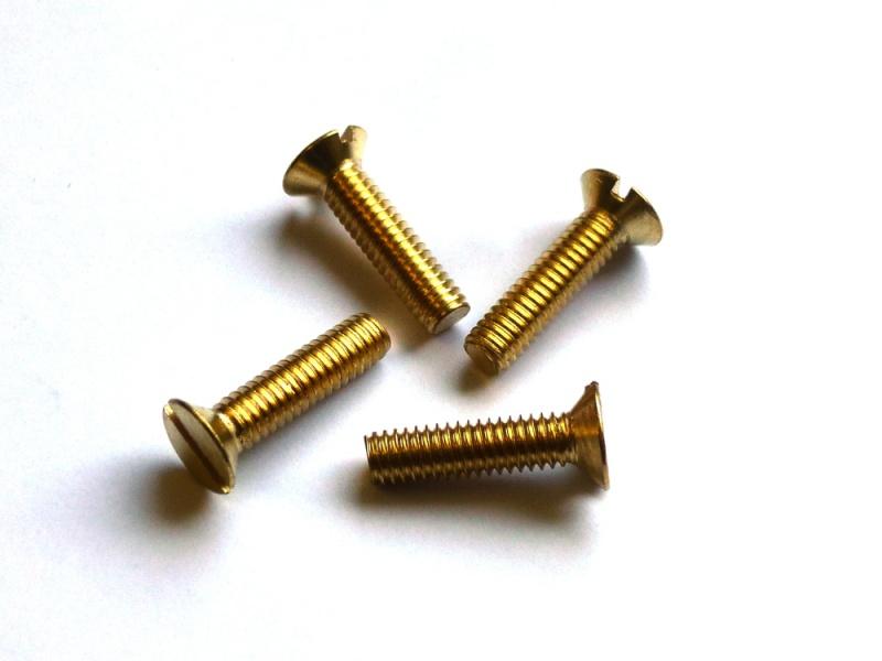 25 Stück M 1 X 2 Schlitzschrauben DIN 963 Edelstahl A2