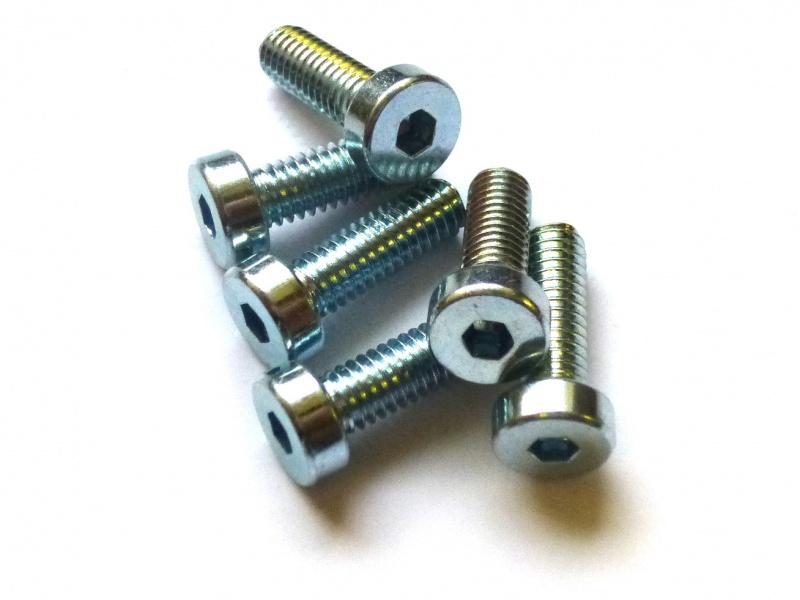 100 Stk Zylinderschraube DIN 912 Stahl 8.8 galv M 5 verzinkt